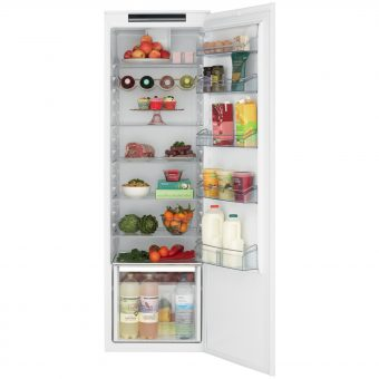 John Lewis JLBILIC07 Tall Integrated Larder Fridge