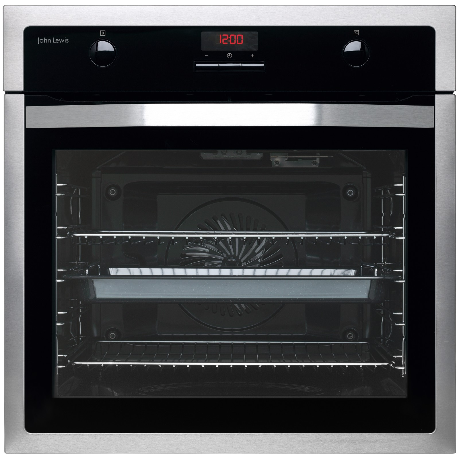 john lewis jlbios615 single oven stainless steel review. Black Bedroom Furniture Sets. Home Design Ideas