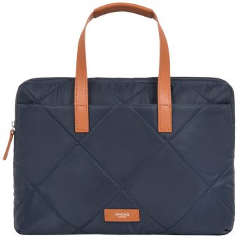 "Knomo Talbot 14"" Slim Briefcase"