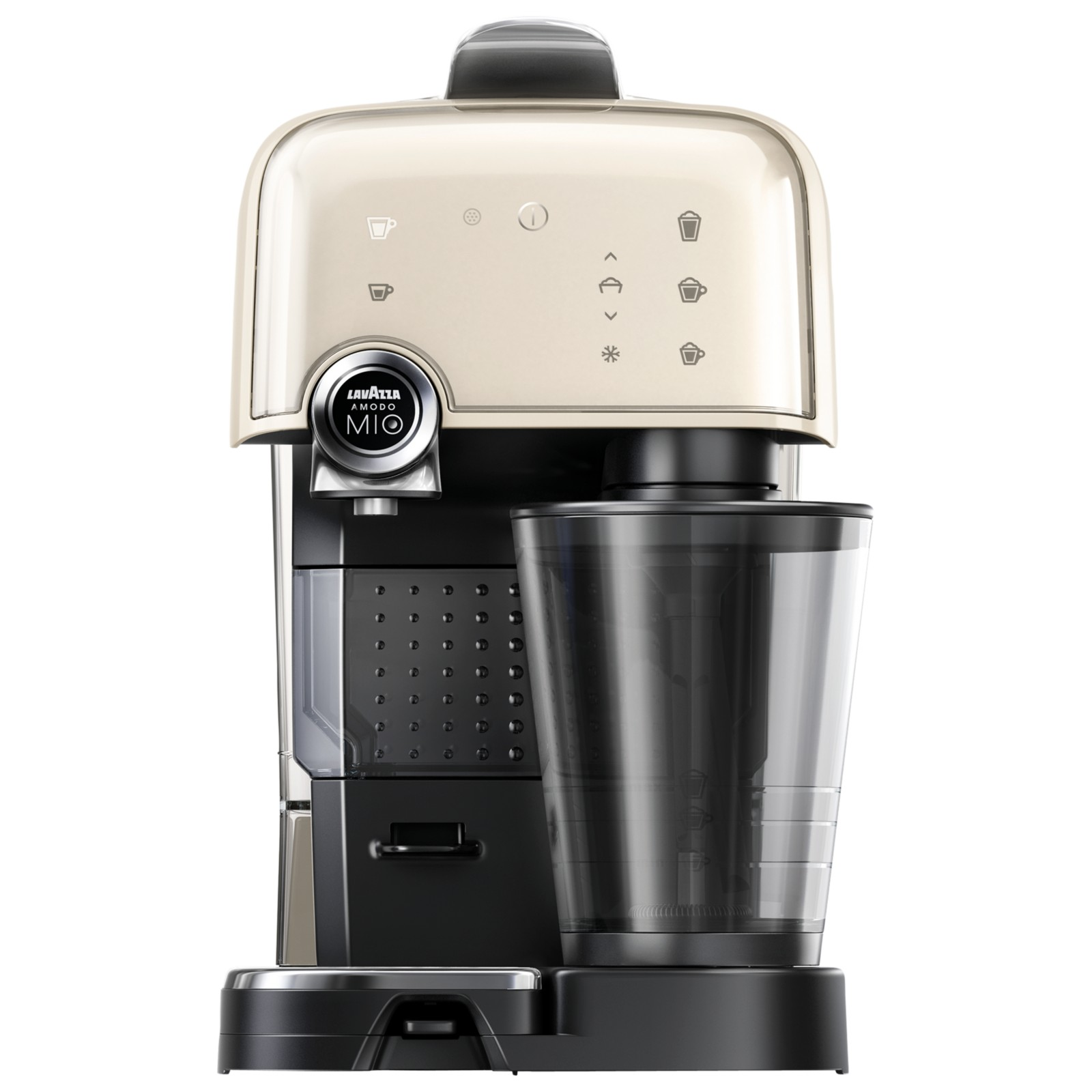 Coffee Maker Latte Reviews : Lavazza A Modo Mio Fantasia LM7000 Cappuccino Latte Coffee Machine Cream Review - Best Buy Review