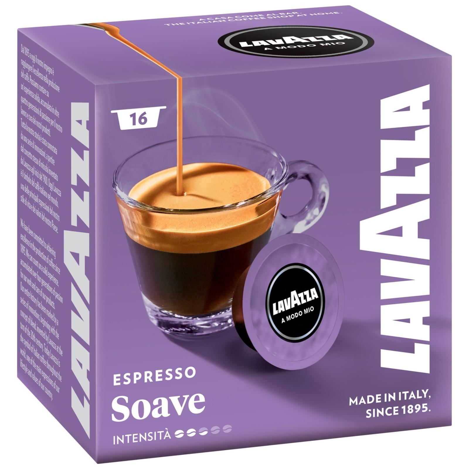 Lavazza Soave A Modo Mio Espresso Capsules