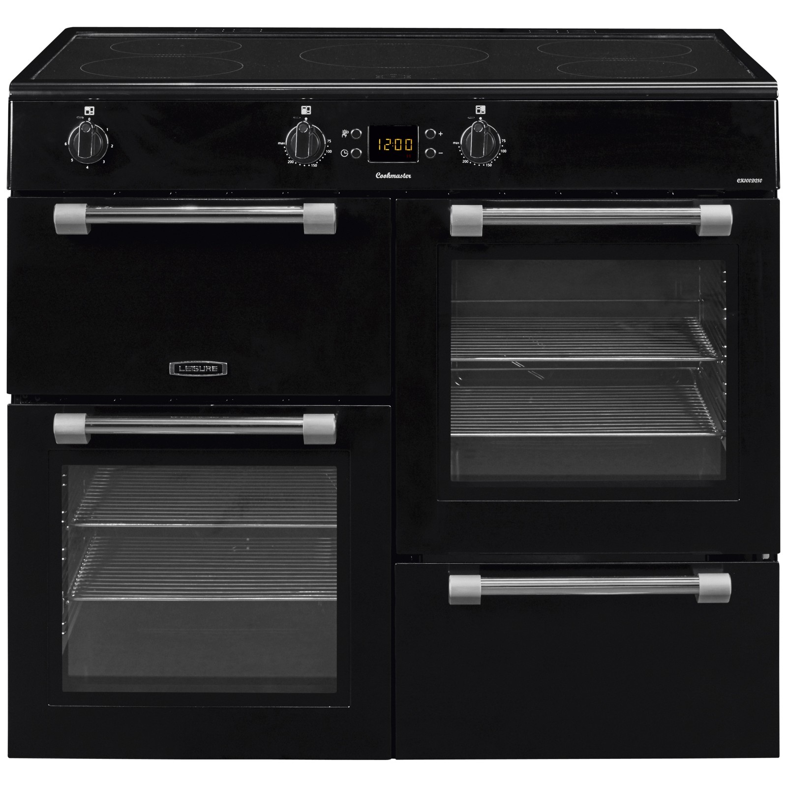 Leisure Cookmaster CK100D210K Freestanding Electric Range Cooker