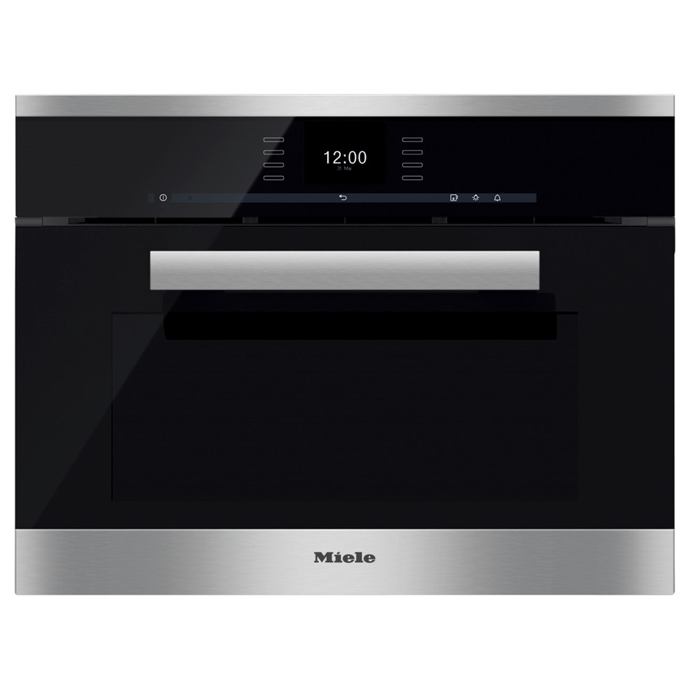 miele dgc6600xl pureline combination steam oven clean steel review best buy review. Black Bedroom Furniture Sets. Home Design Ideas