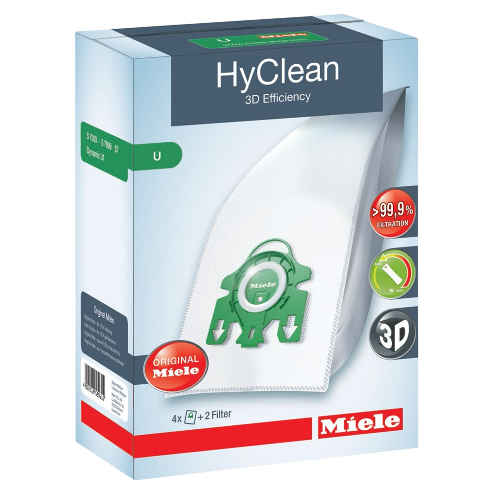 Miele SB U HyClean 3D Efficiency Vacuum Cleaner Bag