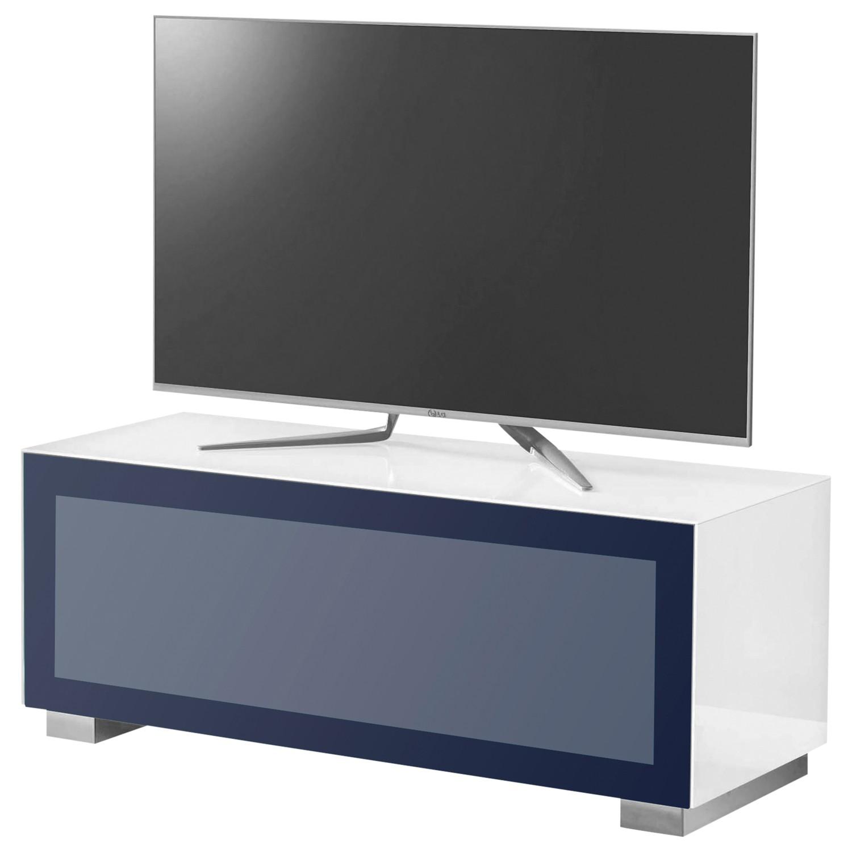 """Munari Magic 125 TV Stand For TV's up to 50"""" White/Blue"""
