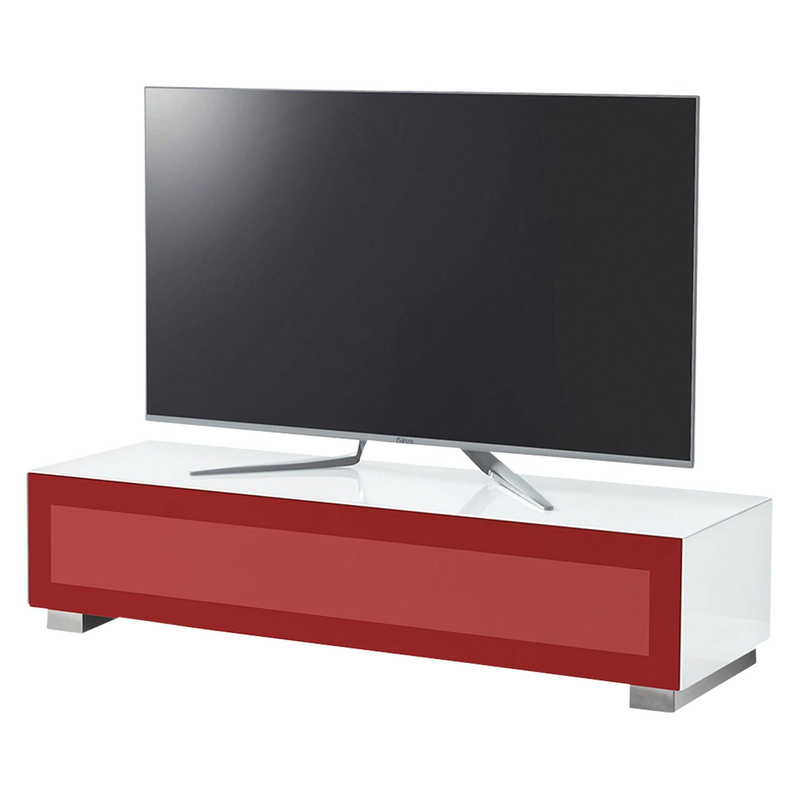 """Munari Magic 150 TV Stand For TV's up to 60"""" White/Red"""