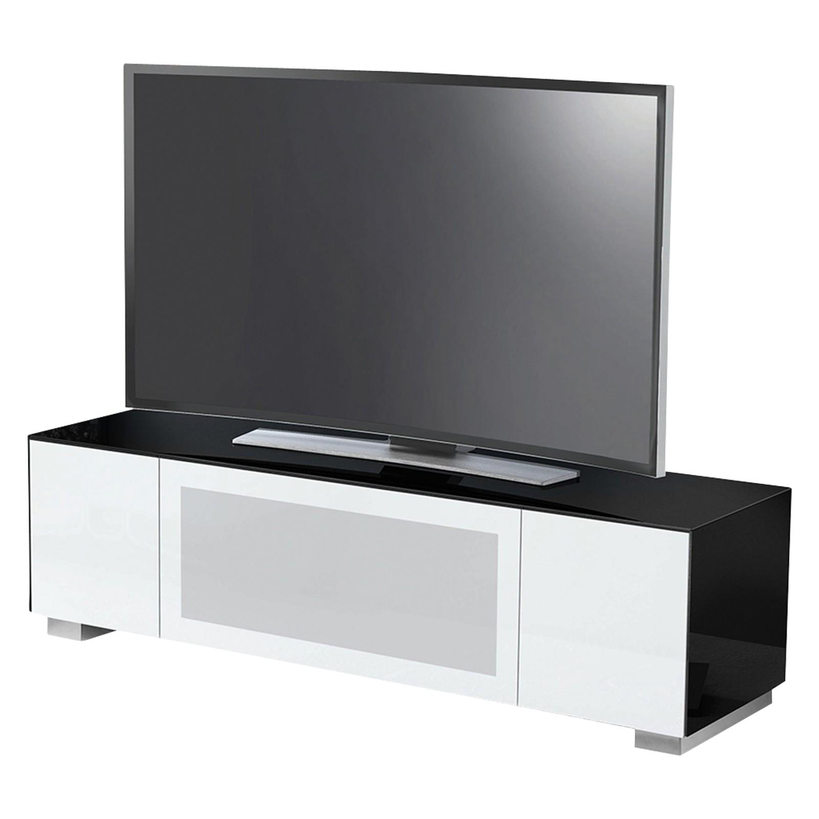 """Munari Magic 175 TV Stand For TV's up to 70"""" Black/White"""