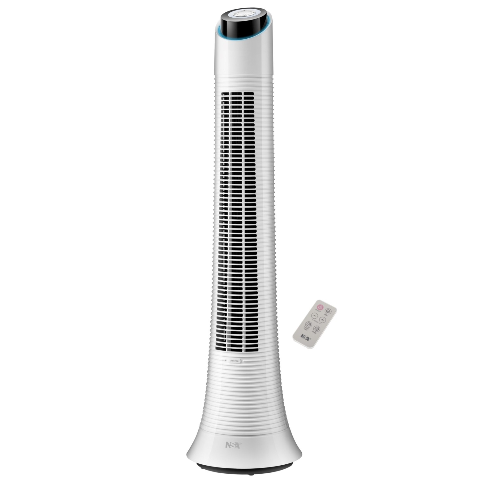 NSA'UK TFRDC-50RC Rechargeable Tower Fan with Remote Control