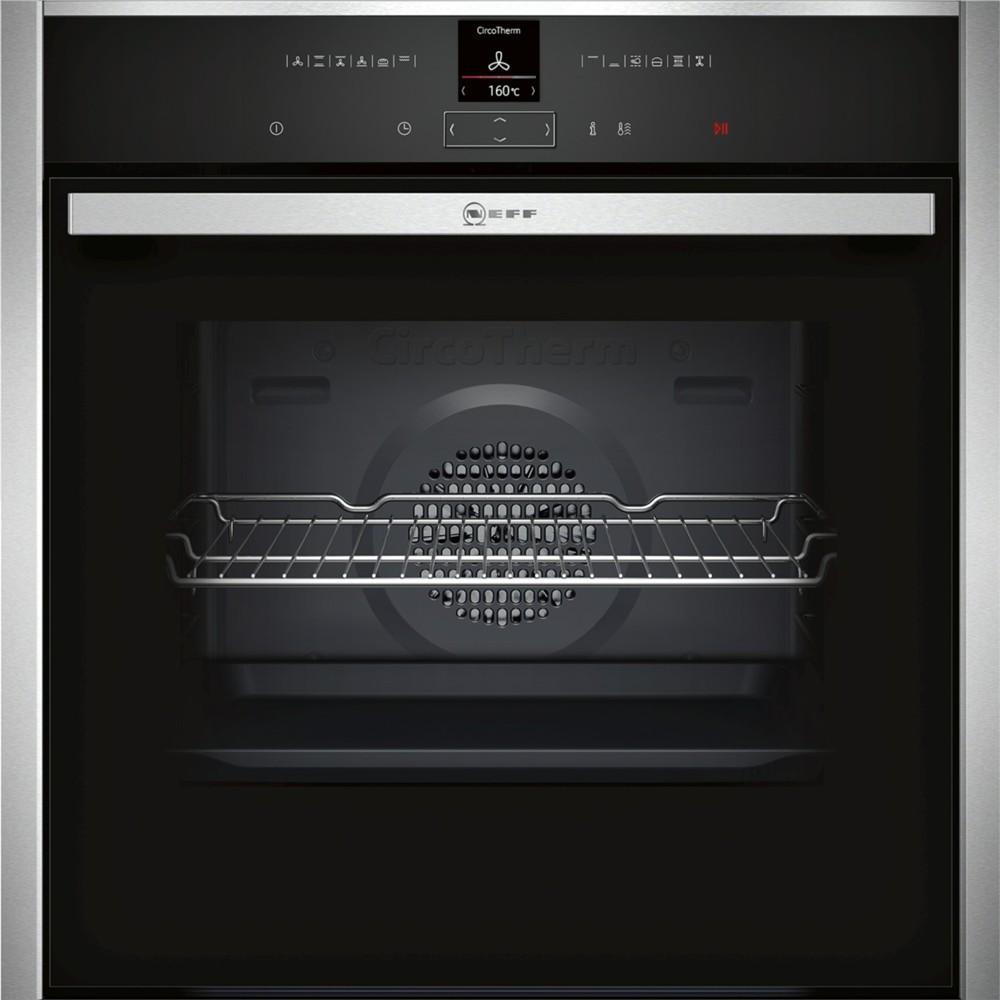 Neff B27CR22N1B CircoTherm® Pyrolytic Single Electric Oven