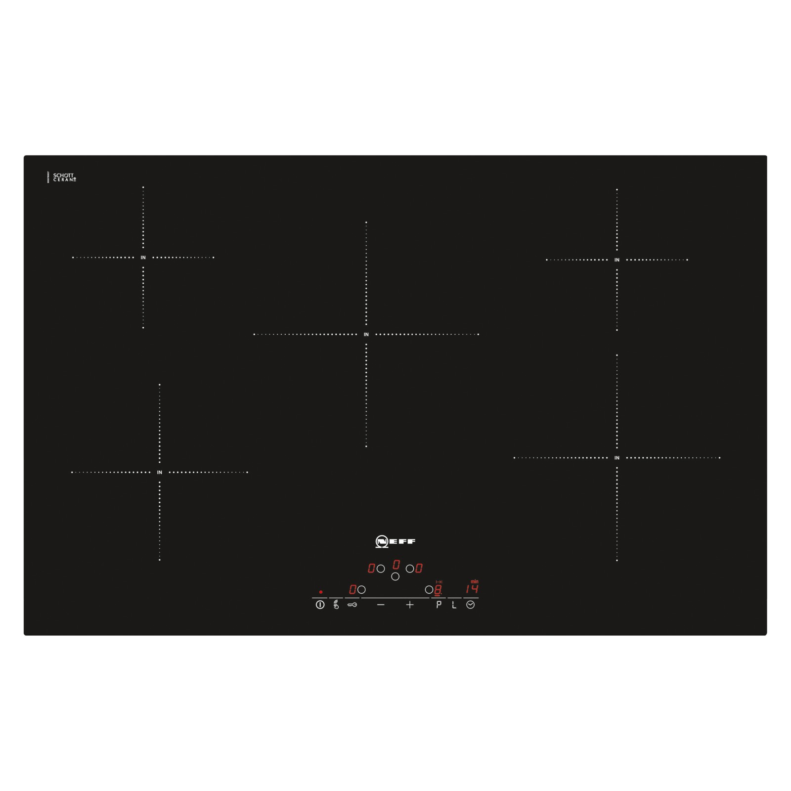 Neff T45D82X2 Induction Hob