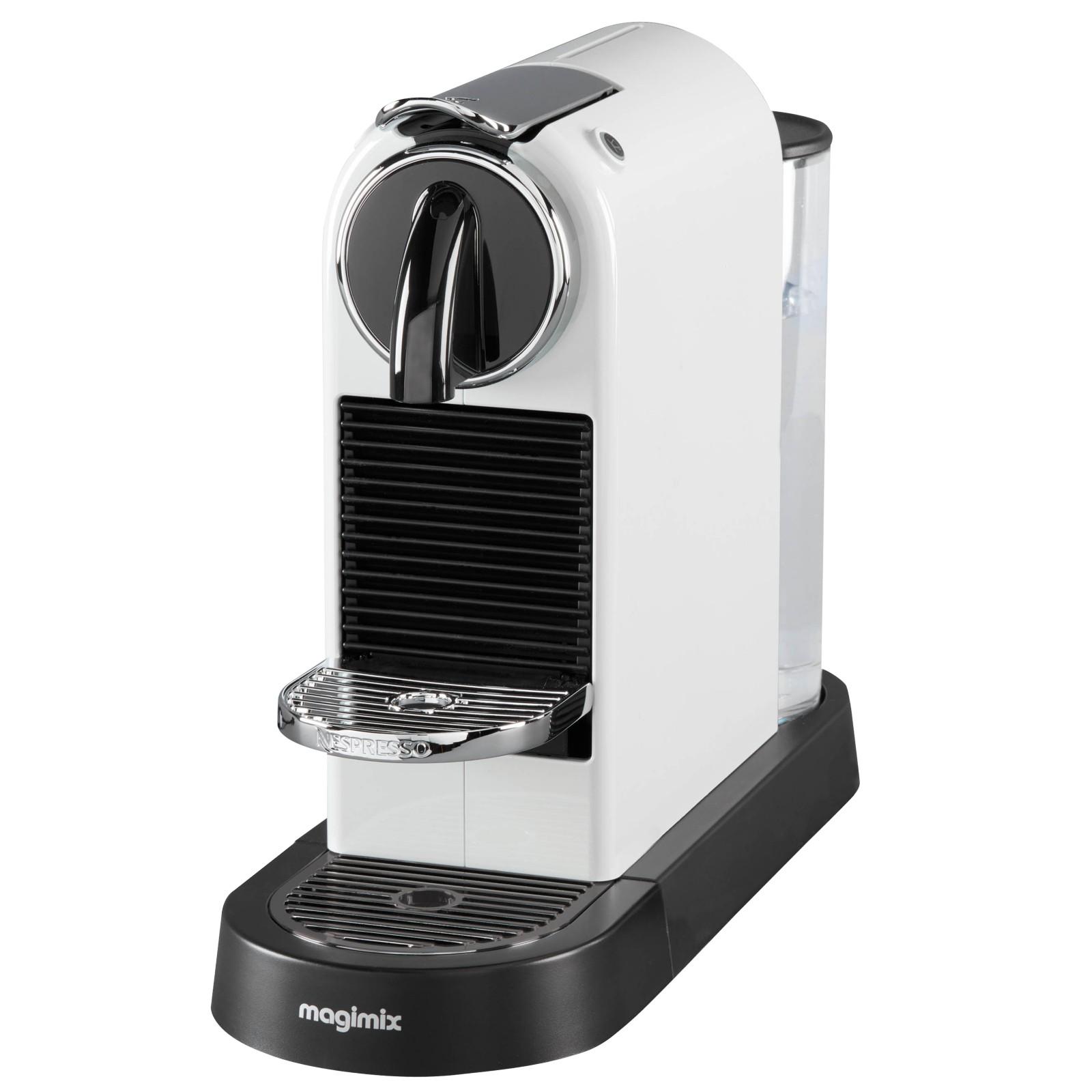 Nespresso CitiZ Coffee Machine by Magimix White