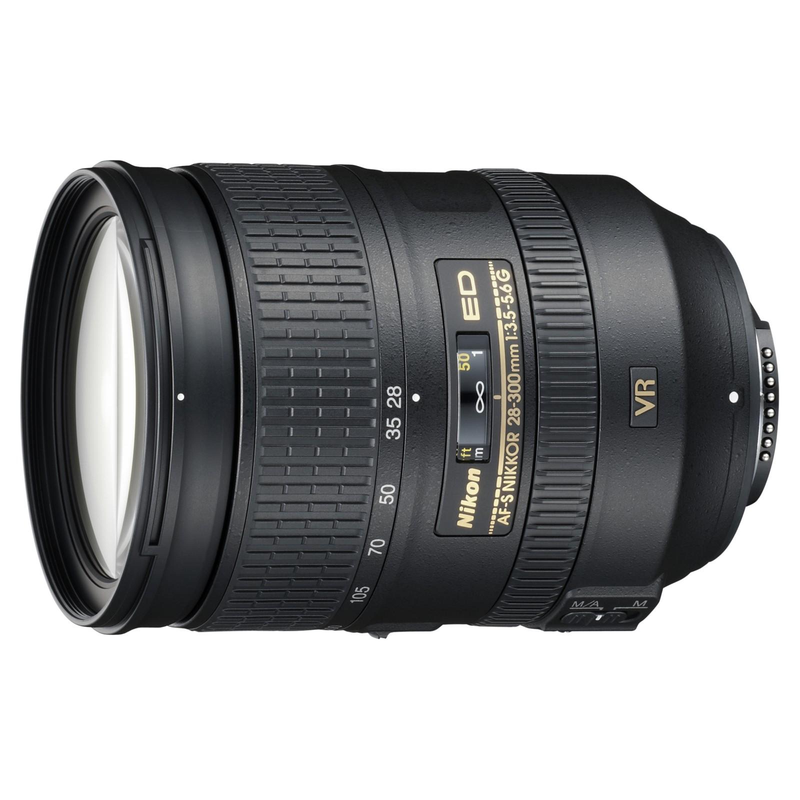 Nikon 28-300mm f3.5-5.6G VR AF-S Telephoto Lens