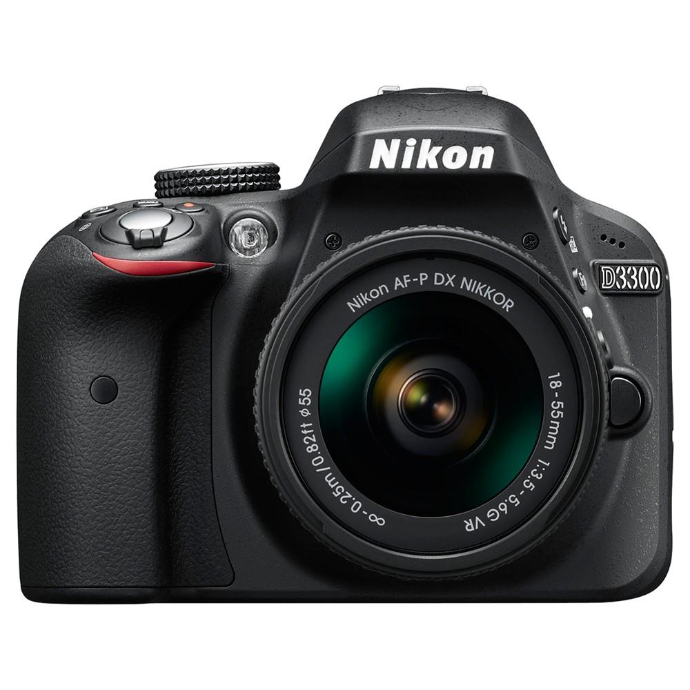 Nikon D3300 Digital SLR Camera with 18-55mm AF-P Lens