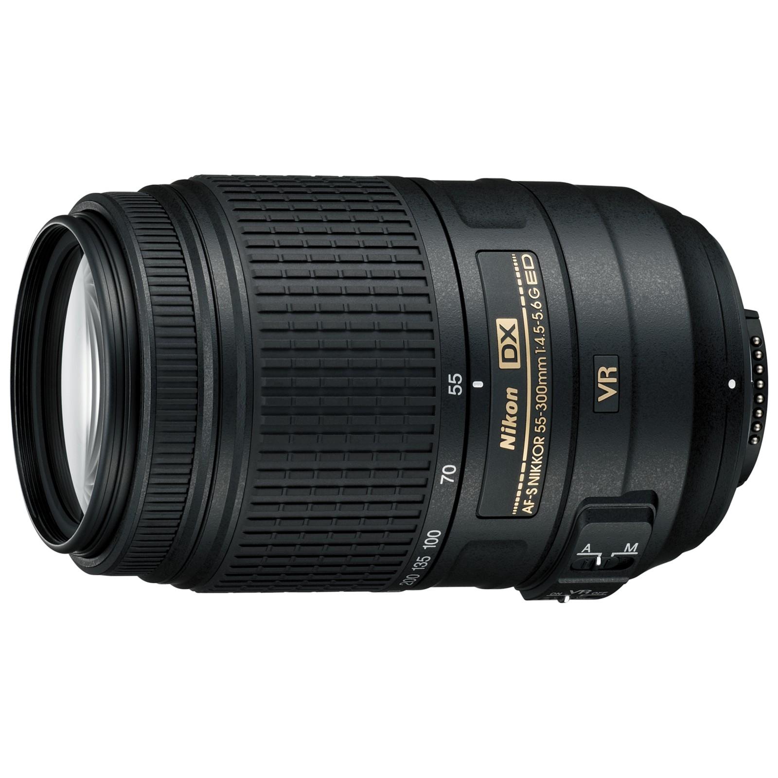 Nikon DX 55-300mm f/4.5-5.6G ED VR AF-S Telephoto Lens