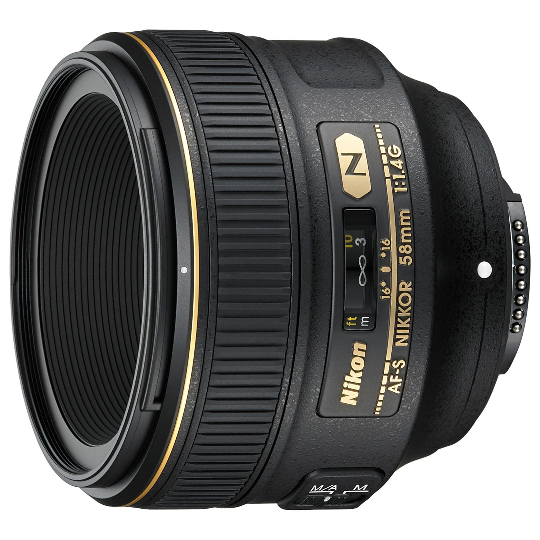 Nikon FX 58mm f/1.4G AF-S Standard Lens