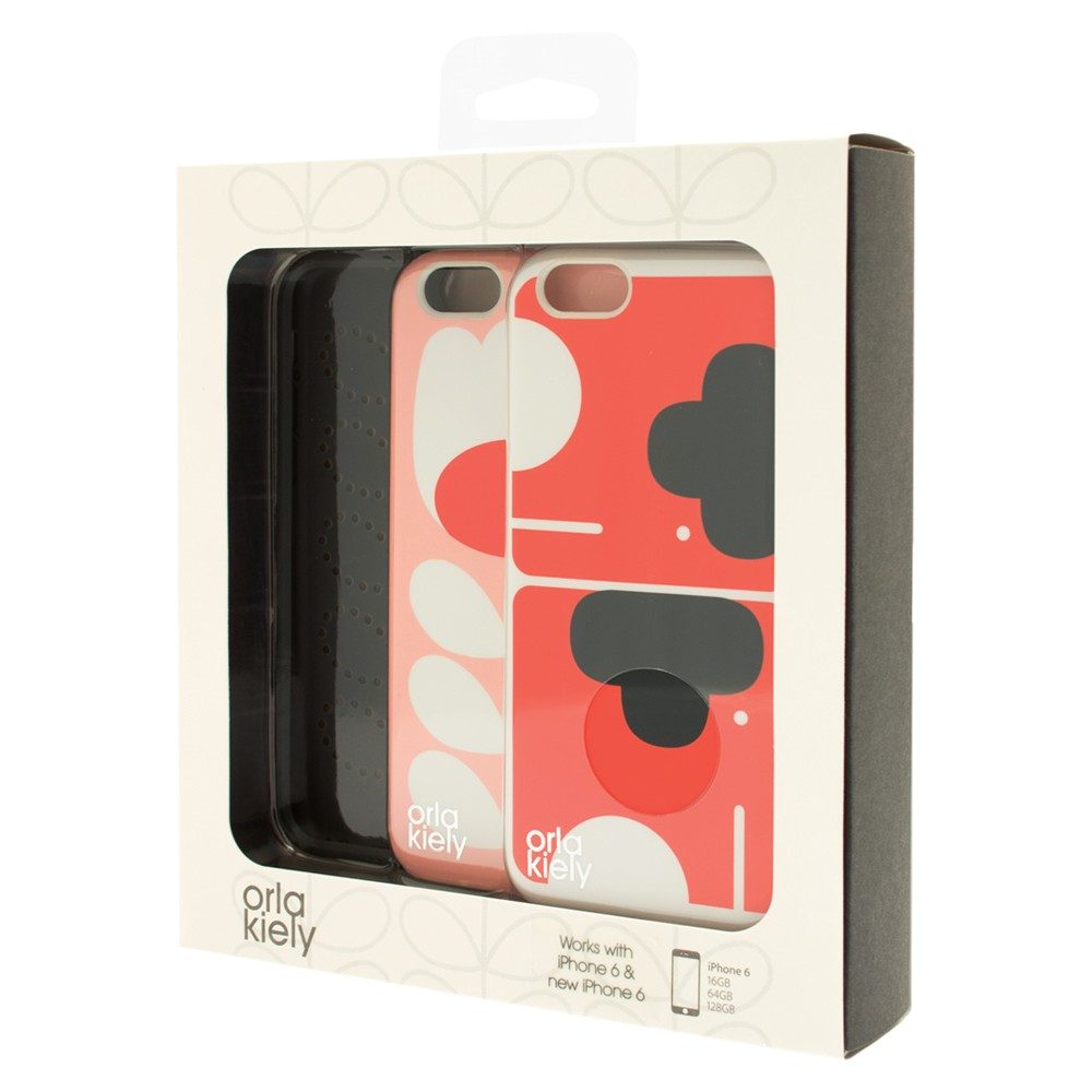 Orla Kiely Elephant and Tulip Stem Cases for iPhone 6