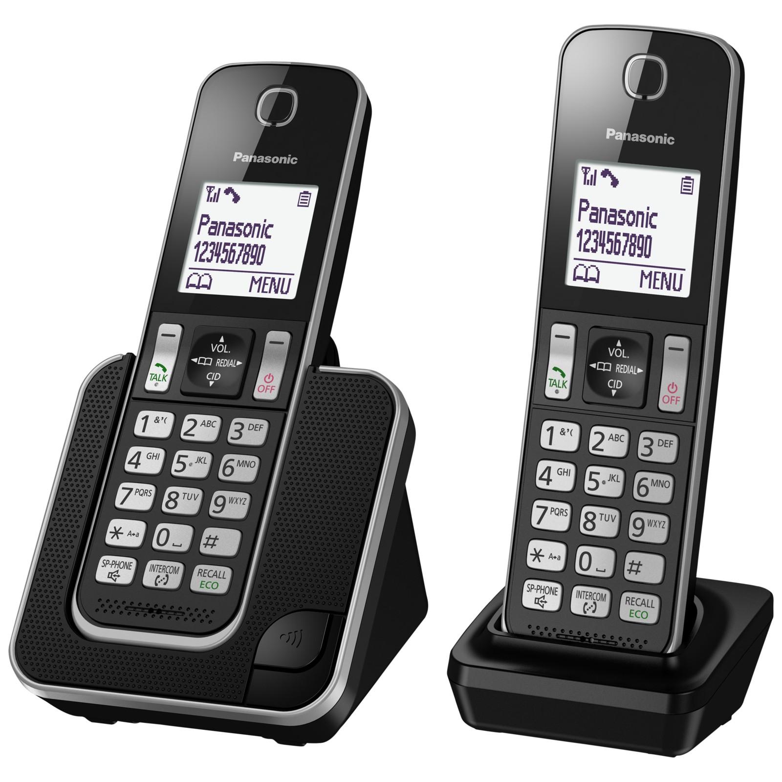 Panasonic KX-TGD312ED Digital Cordless Phone with Nuisance Call Control