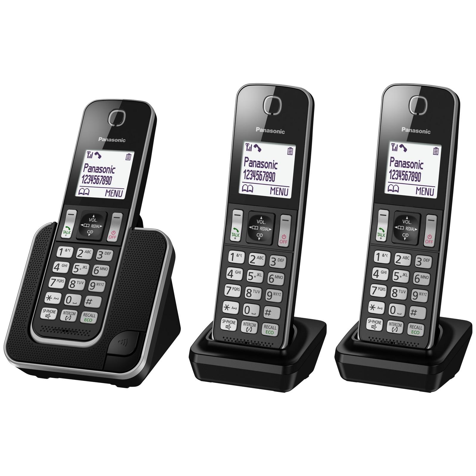 Panasonic KX-TGD313ED Digital Cordless Phone with Nuisance Call Control