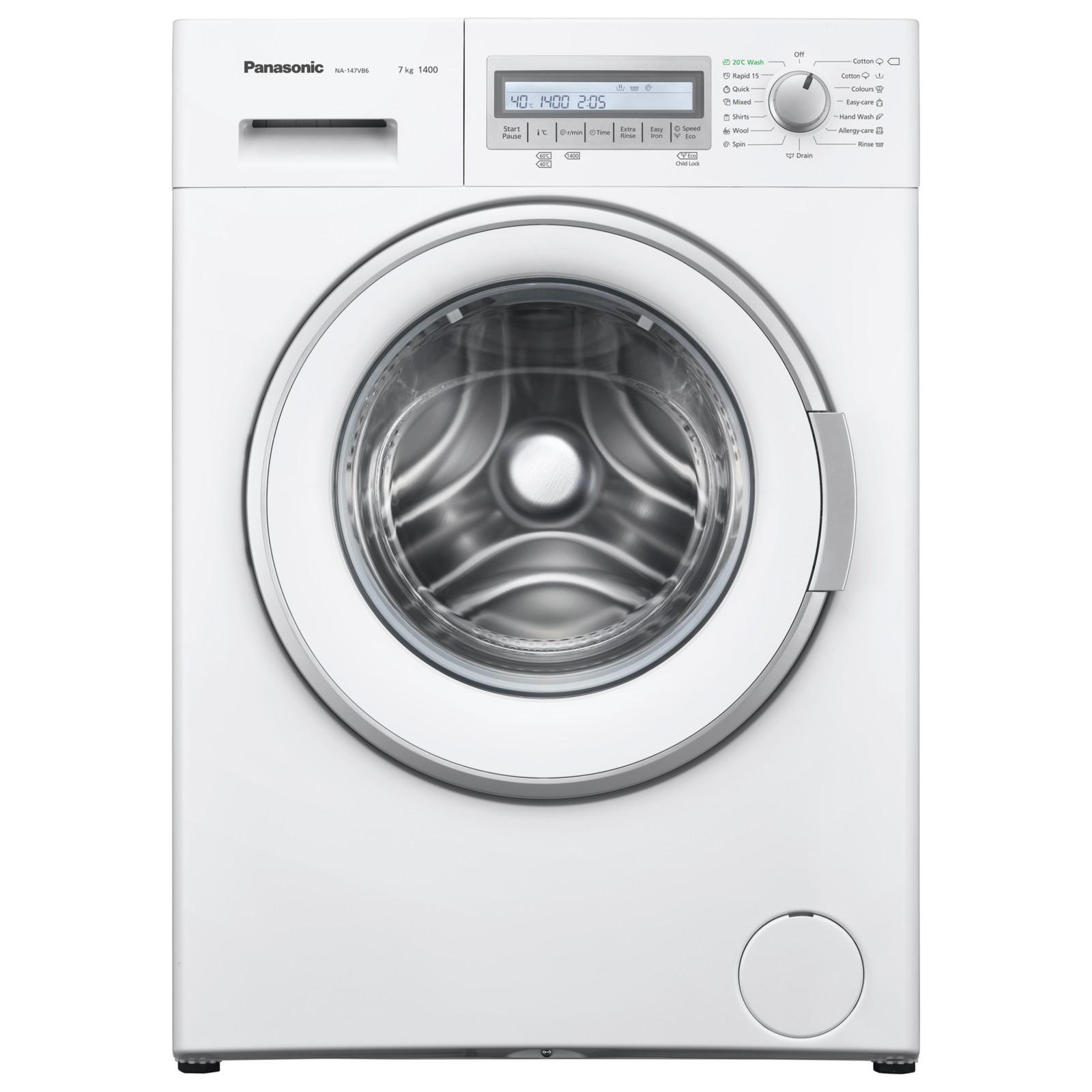 Panasonic NA-147VB6WGB Freestanding Washing Machine