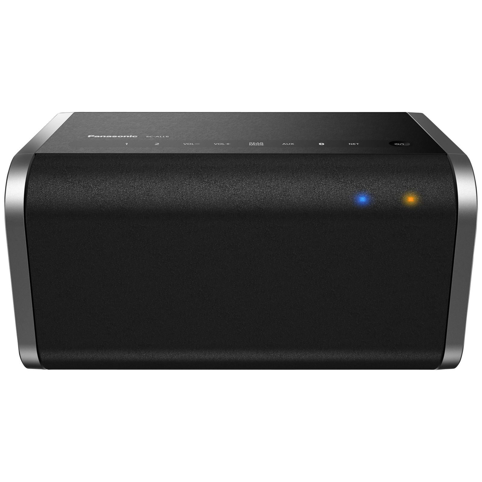 Panasonic SC-ALL6EB-K Multi-Room Speaker with Bluetooth