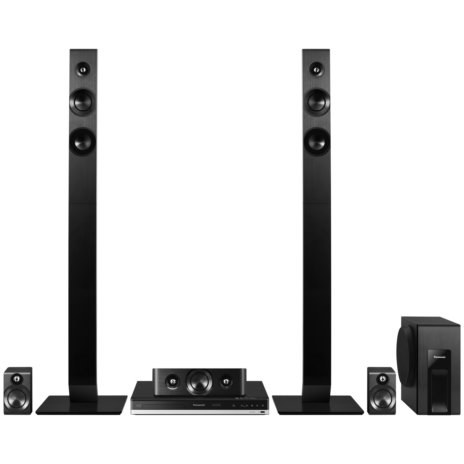 Panasonic SC-BTT465EB9 5.1 3D HD 1080p Smart Bluetooth NFC Blu-Ray Home Cinema System