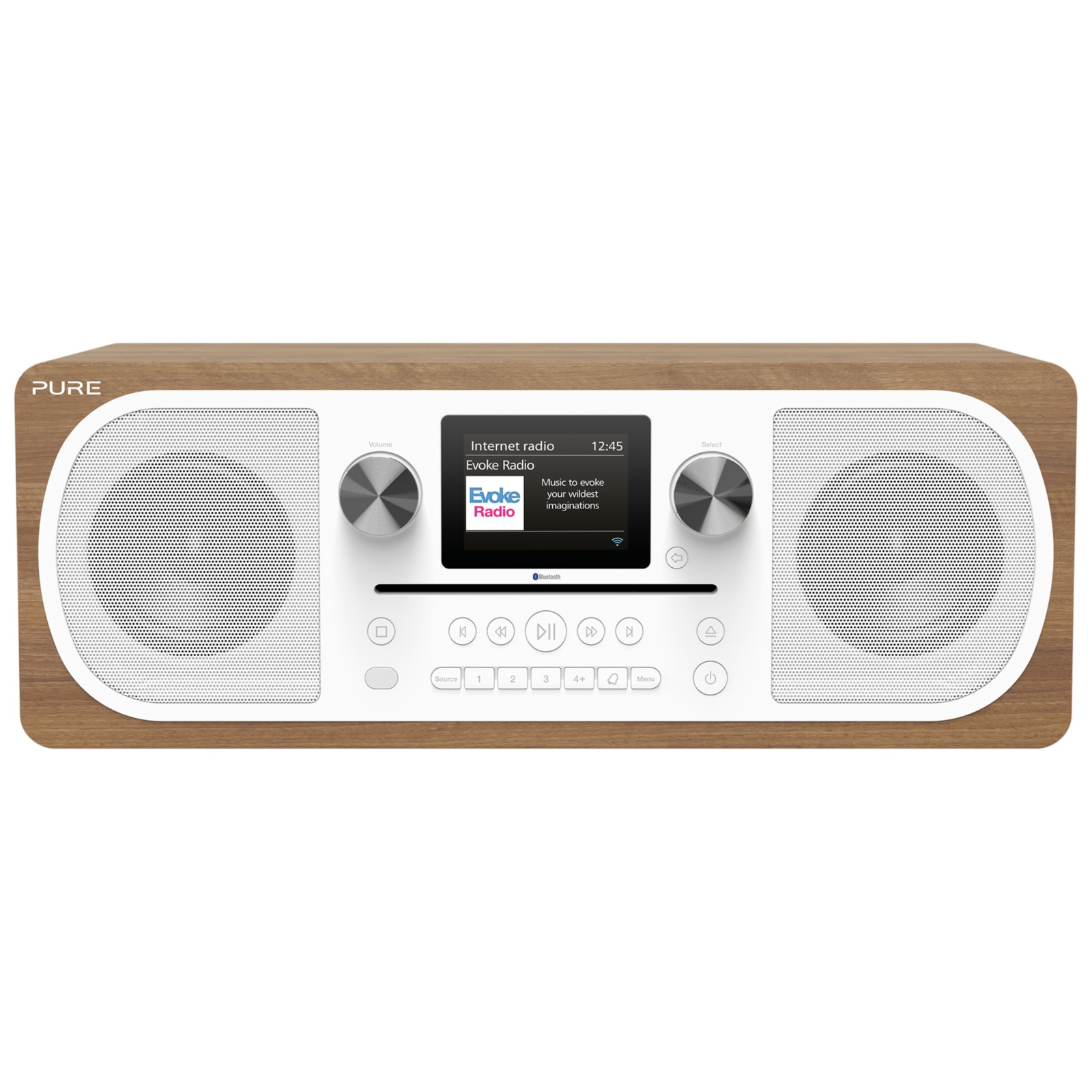 Pure Evoke C-F6 DAB+/FM Bluetooth Stereo All-In-One Smart Music System With Spotify Connect