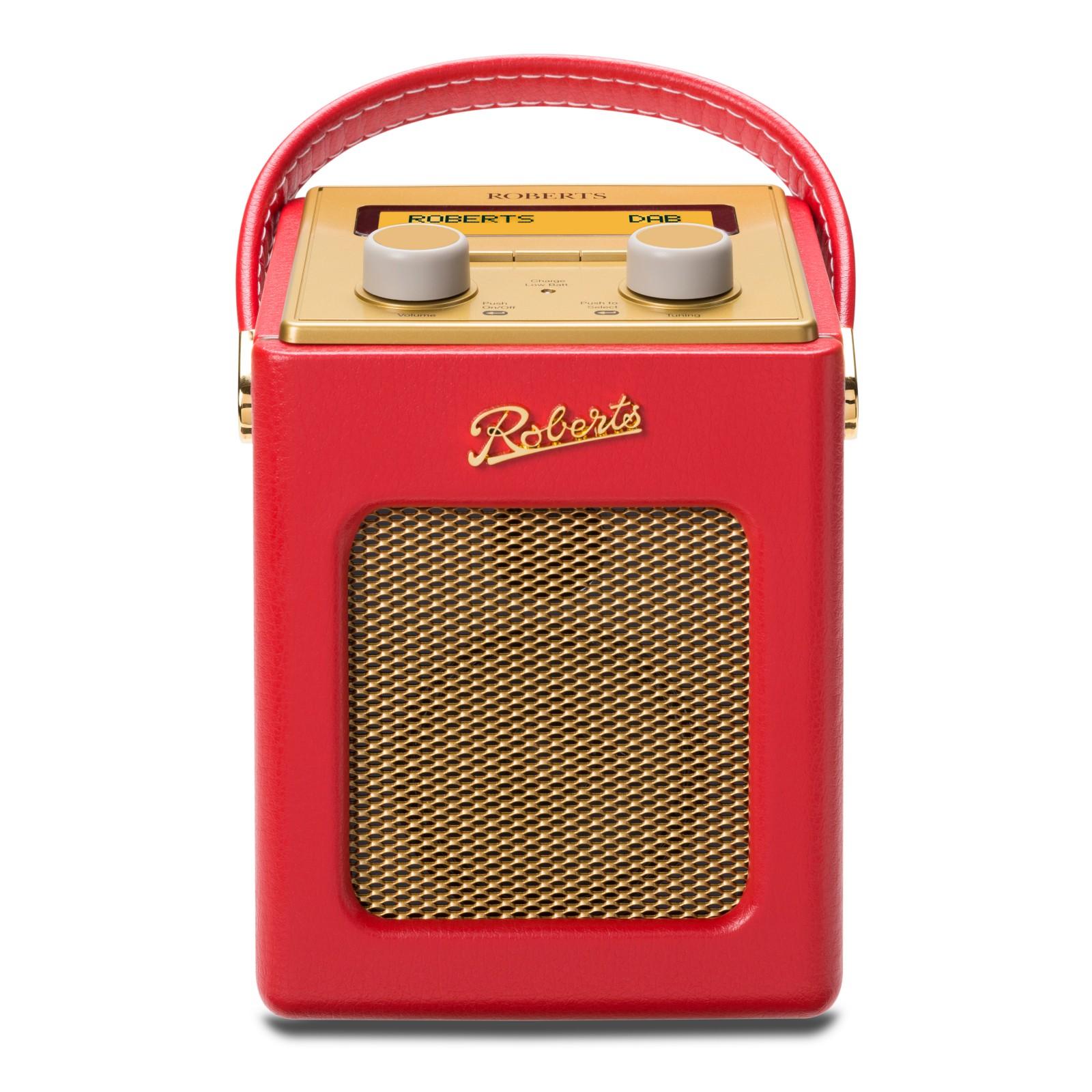 ROBERTS Revival Mini DAB/FM Digital Radio Red