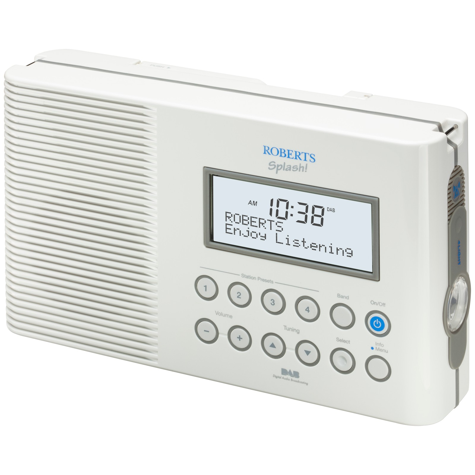 ROBERTS SPLASH! DAB/FM Shower Radio