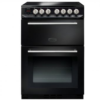 Rangemaster Arleston 60cm Electric Range Cooker Black