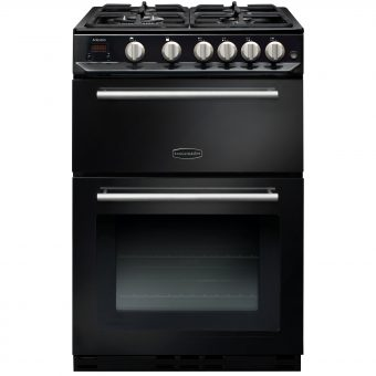 Rangemaster Arleston 60cm Gas Range Cooker Black