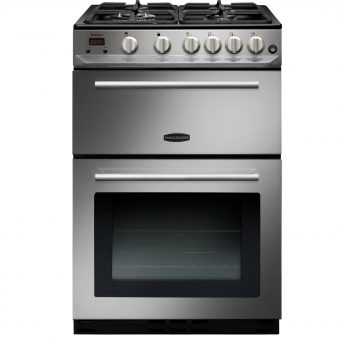 Rangemaster Arleston 60cm Gas Range Cooker Stainless Steel
