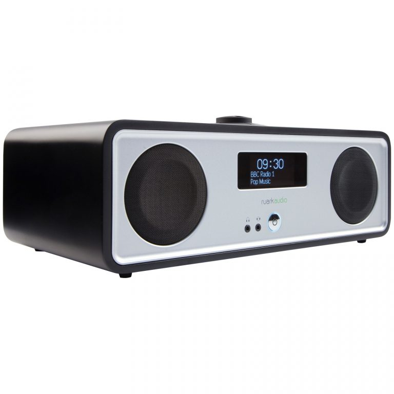 Ruark R2 MK3 DAB/FM/Internet Radio with Wi-Fi and Bluetooth Black