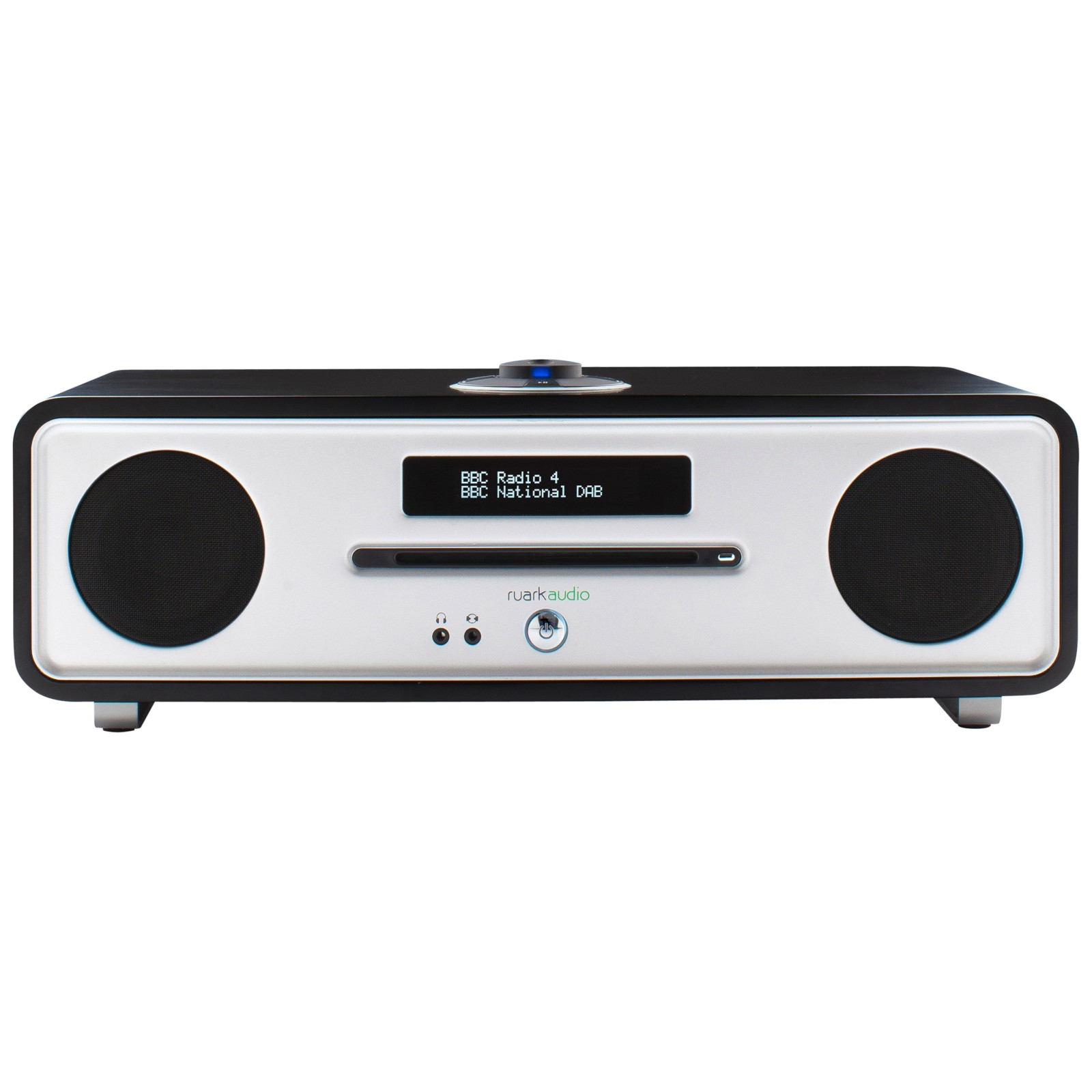 Ruark R4 MK3 DAB/DAB+/FM/CD Bluetooth All-In-One Music System with OLED Display Soft Black