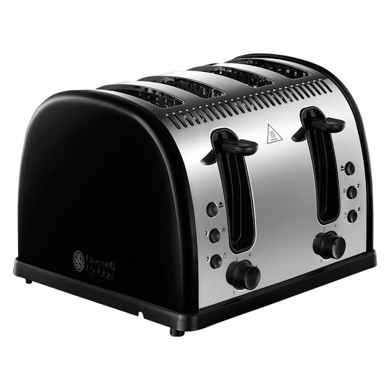Russell Hobbs Legacy Toaster Black