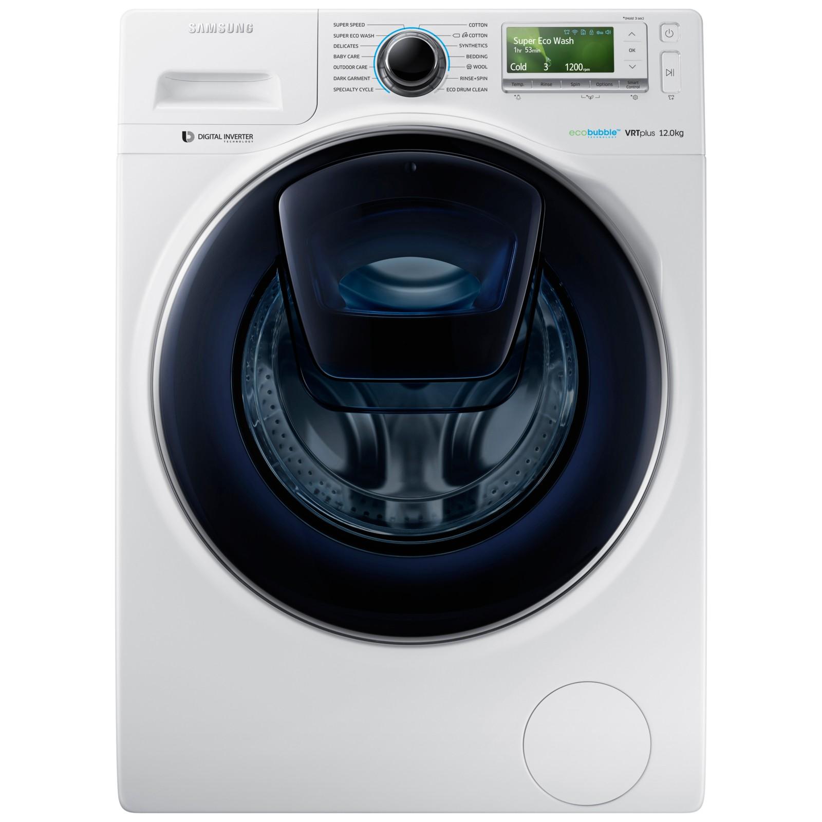 Samsung AddWash WW12K8412OW/EU Washing Machine