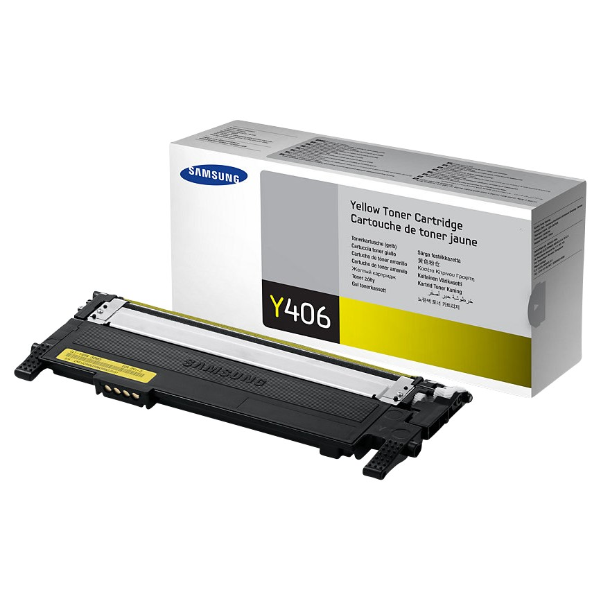 Samsung CLT-406S Colour Toner Cartridge Yellow