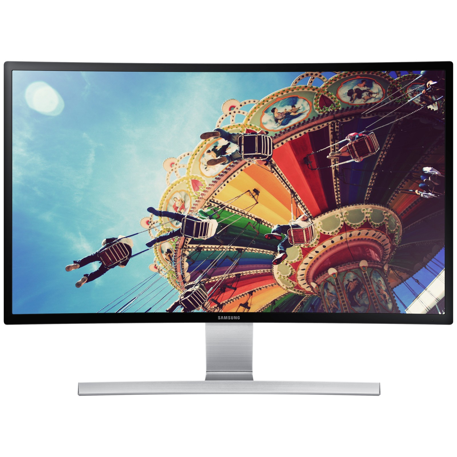 Samsung LS27D590C Curved Full HD LED PC Monitor with built-in speakers