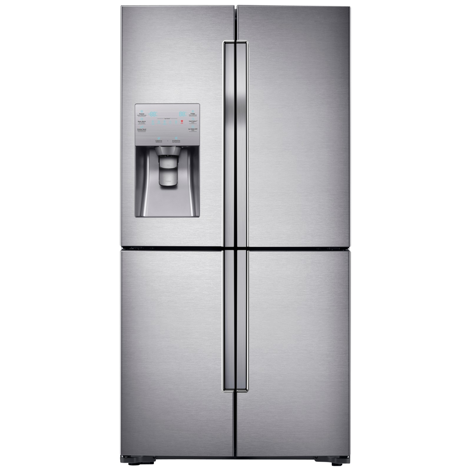 Samsung RF56J9040SR 4-Door American Style Fridge Freezer