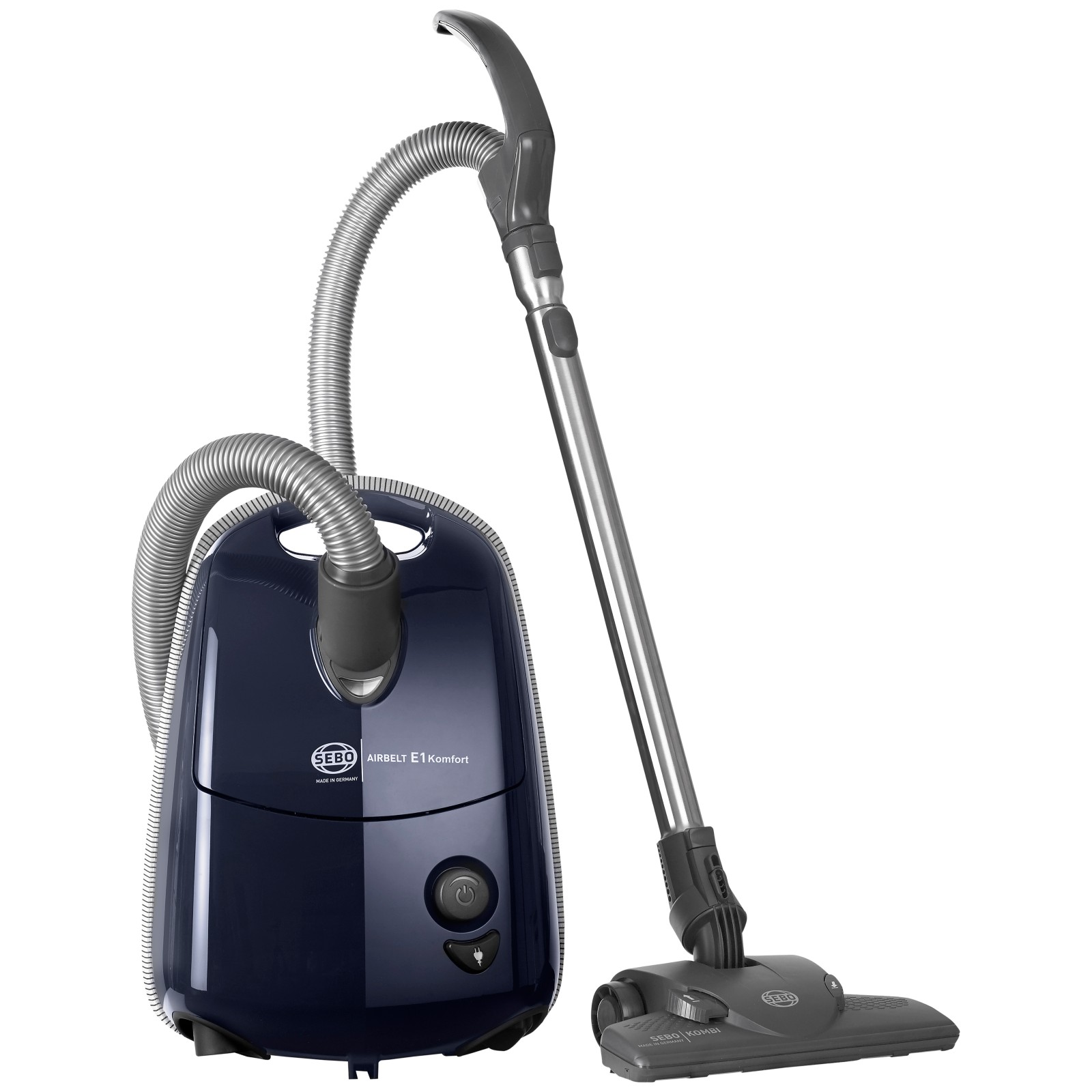 Sebo 91603GB Airbelt E1 Komfort Cylinder Vacuum Cleaner