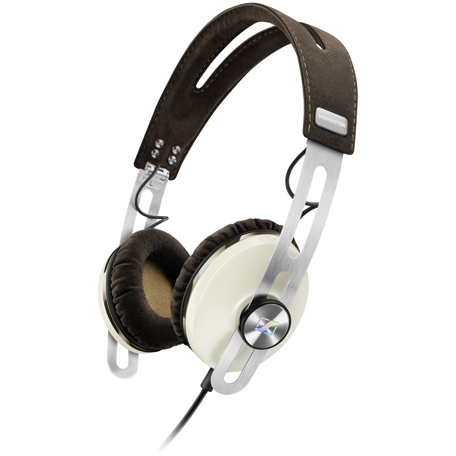 Sennheiser Momentum 2.0i On-Ear Headphones with Mic/remote for Apple devices Ivory