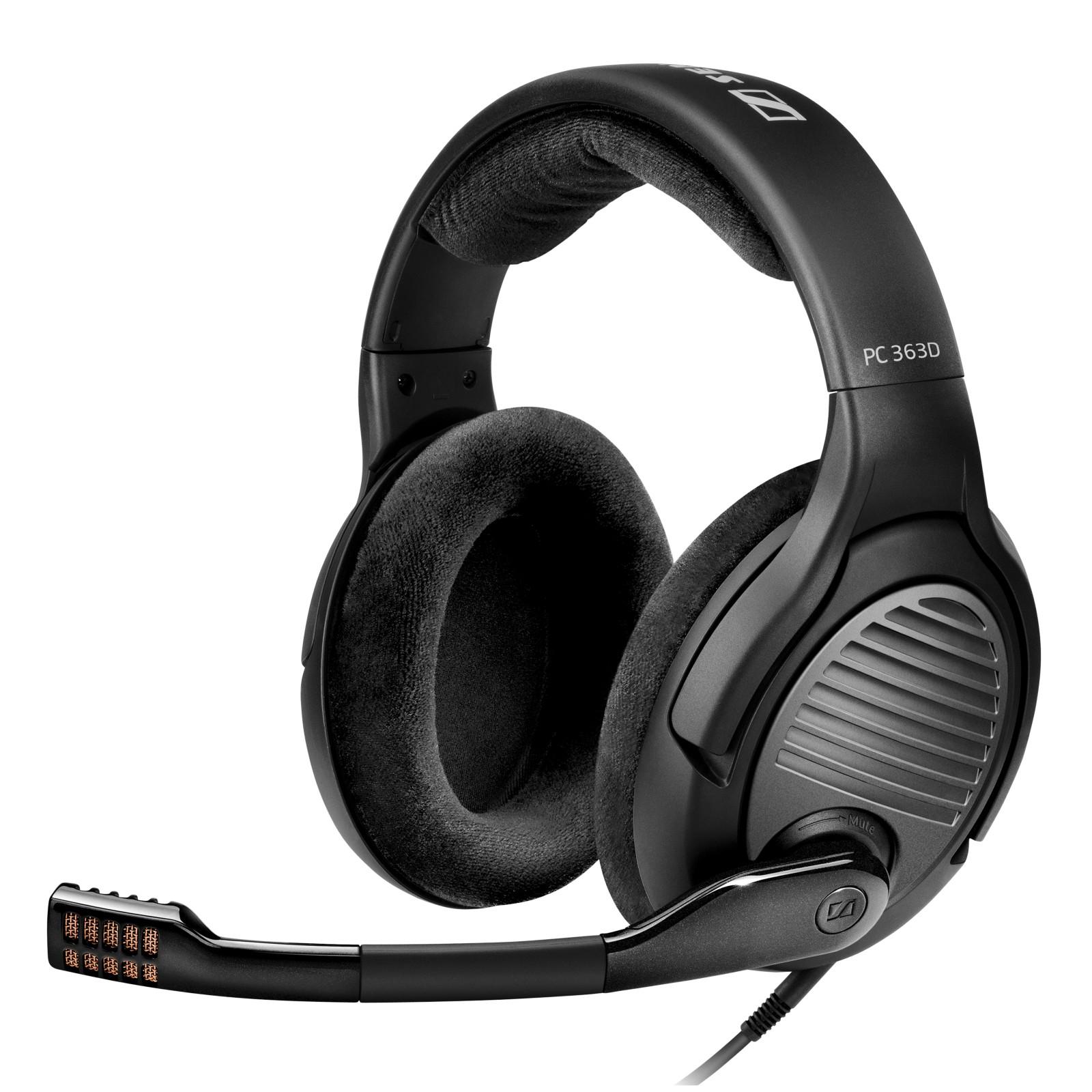 sennheiser pc 363d gaming headset review best buy review. Black Bedroom Furniture Sets. Home Design Ideas