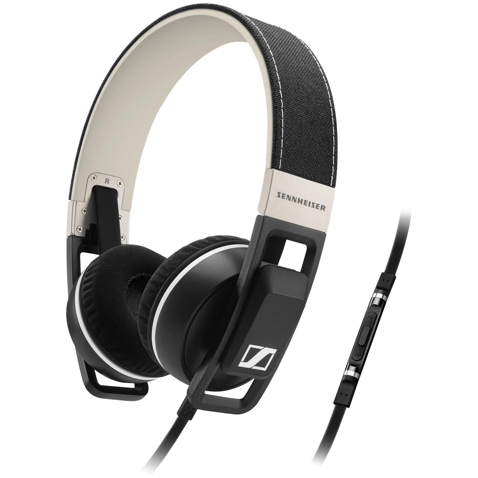 Sennheiser Urbanite I On-Ear Headphones for Apple iPhone/iPod & iPad Black