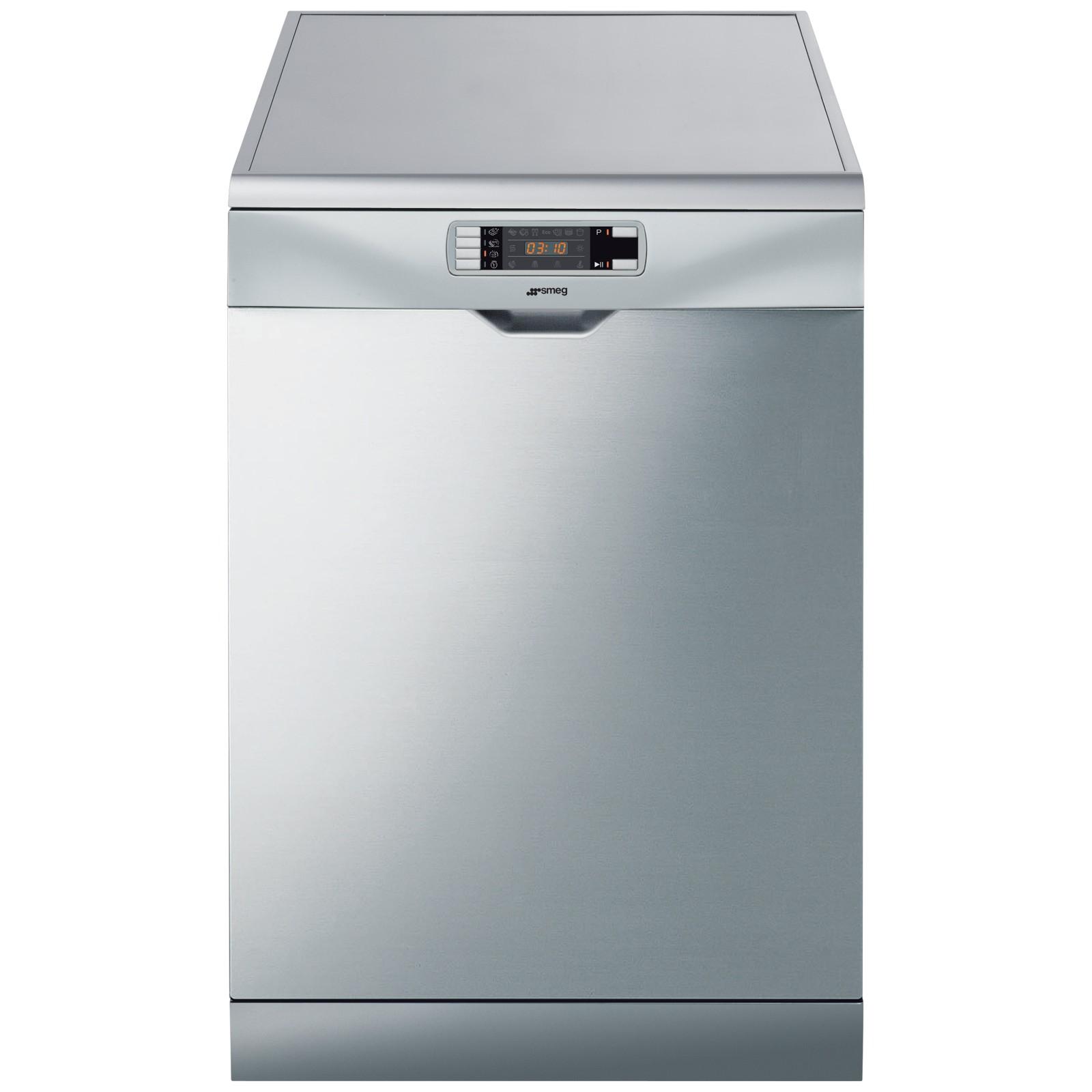 Smeg DC134L Freestanding Dishwasher Silver