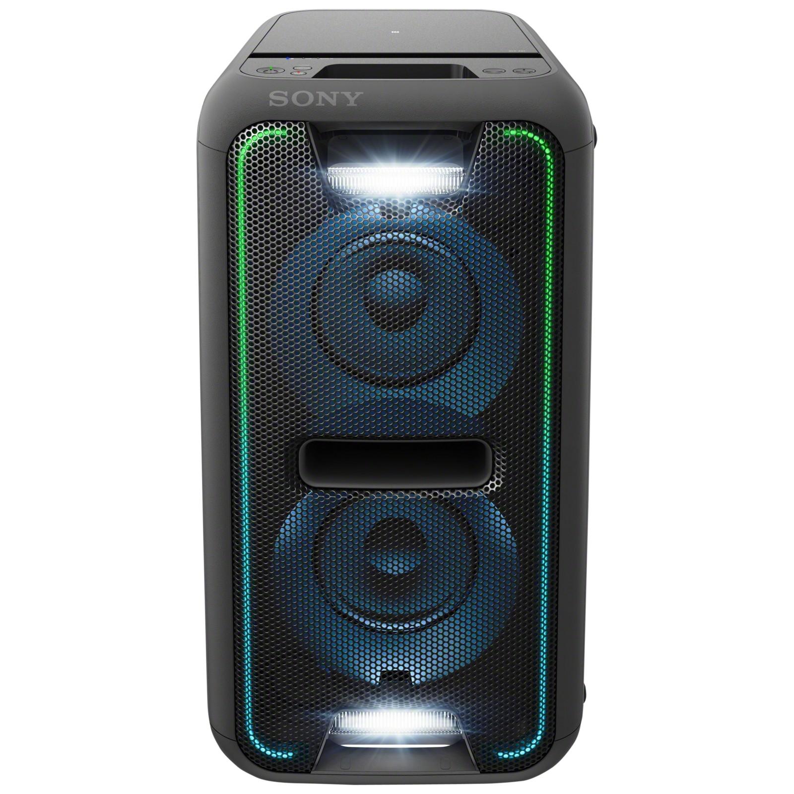 Sony GTKXB7B Boombox Wireless Bluetooth NFC Speaker With LED Lighting Black