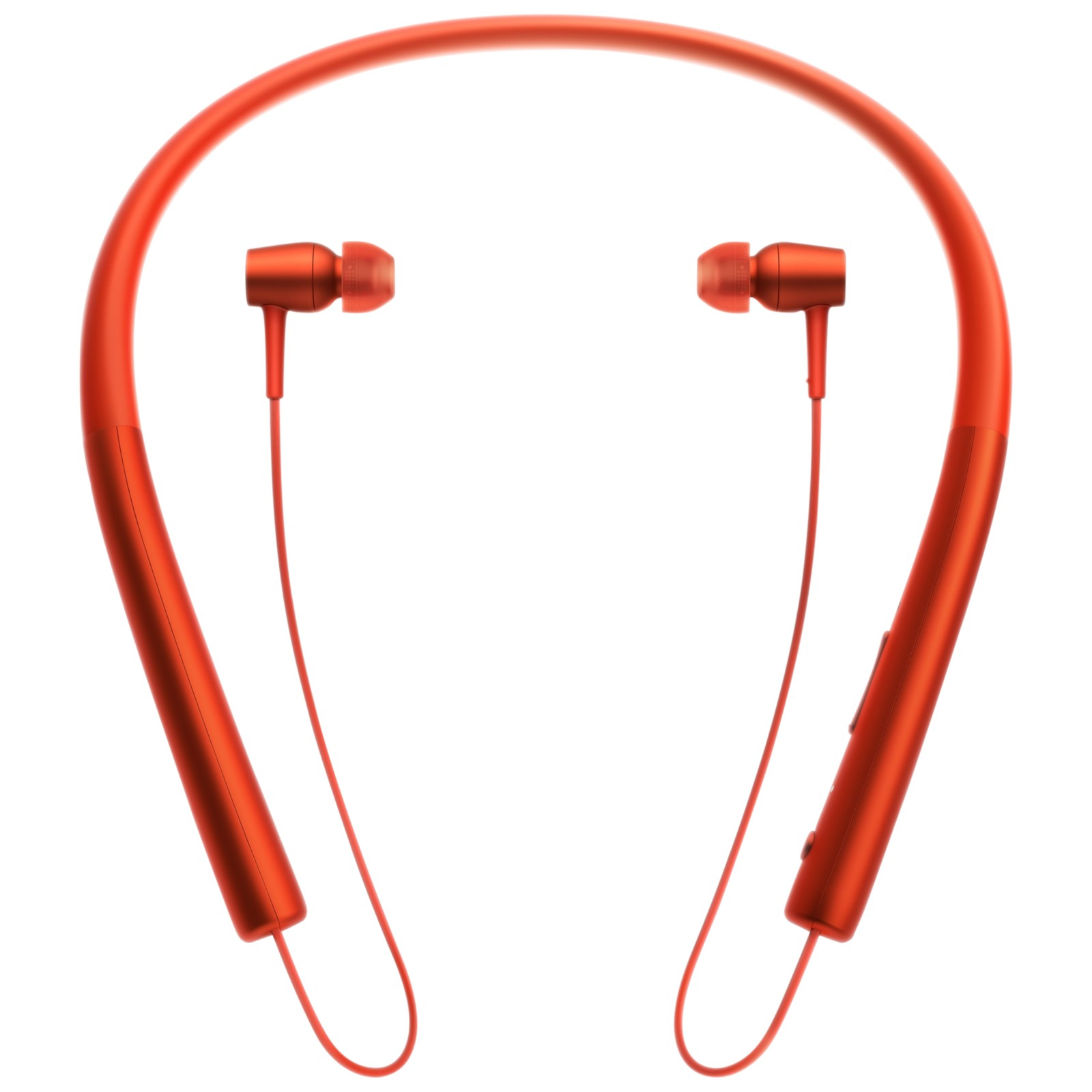 Sony MDR-EX750BT h.ear in Wireless High Resolution In-Ear Headphones with NFC One-Touch Cinnabar Red