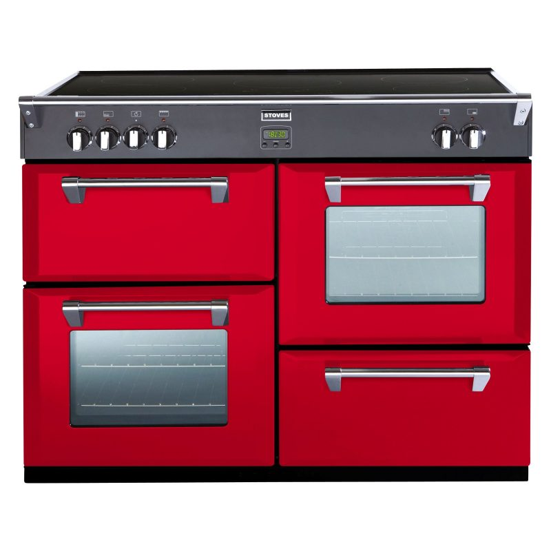 Stoves Richmond 1000Ei Induction Hob Range Cooker Hot Jalapeno
