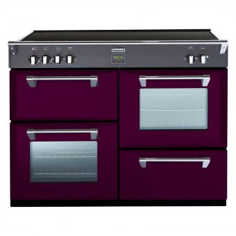 Stoves Richmond 1000Ei Induction Hob Range Cooker Wild Berry