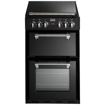 Stoves Richmond 550DFW Dual Fuel Mini Range Cooker Black