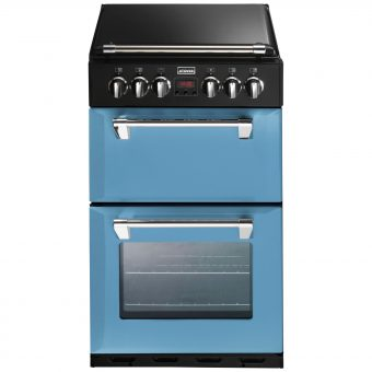 Stoves Richmond 550DFW Dual Fuel Mini Range Cooker Day Break Blue