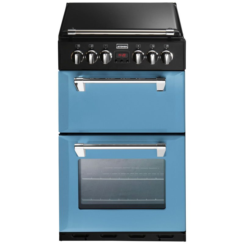 Stoves Richmond 550DFW Dual Fuel Mini Range Cooker Day Break Blue